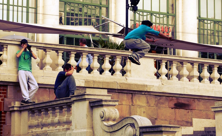 Parkour is now officially a sport – here's to jumping for joy